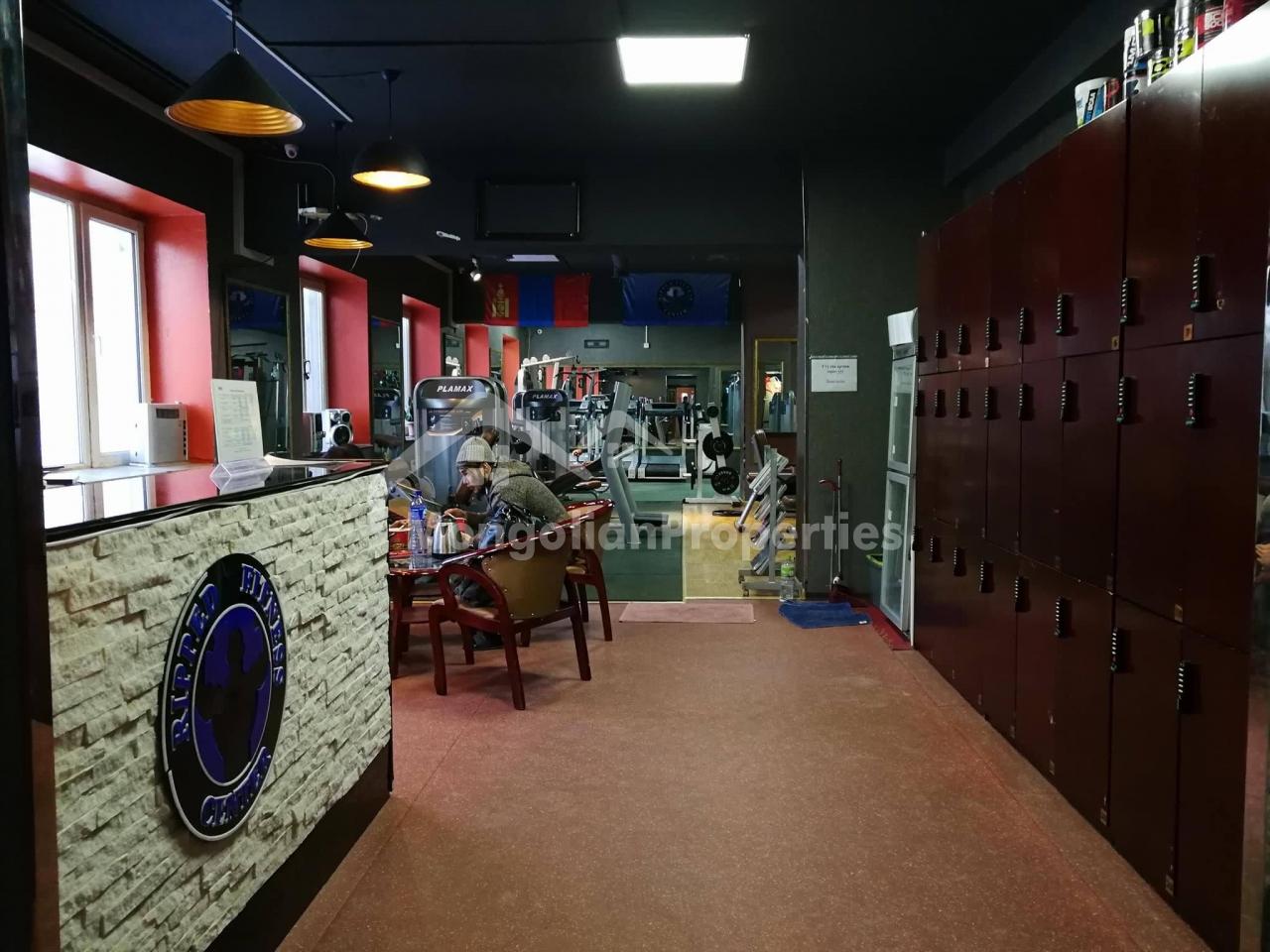 Фитнесс клуб ажиллаж байгаа үйлчилгээний талбай зарна/ COMMERCIAL SPACE FOR SALE