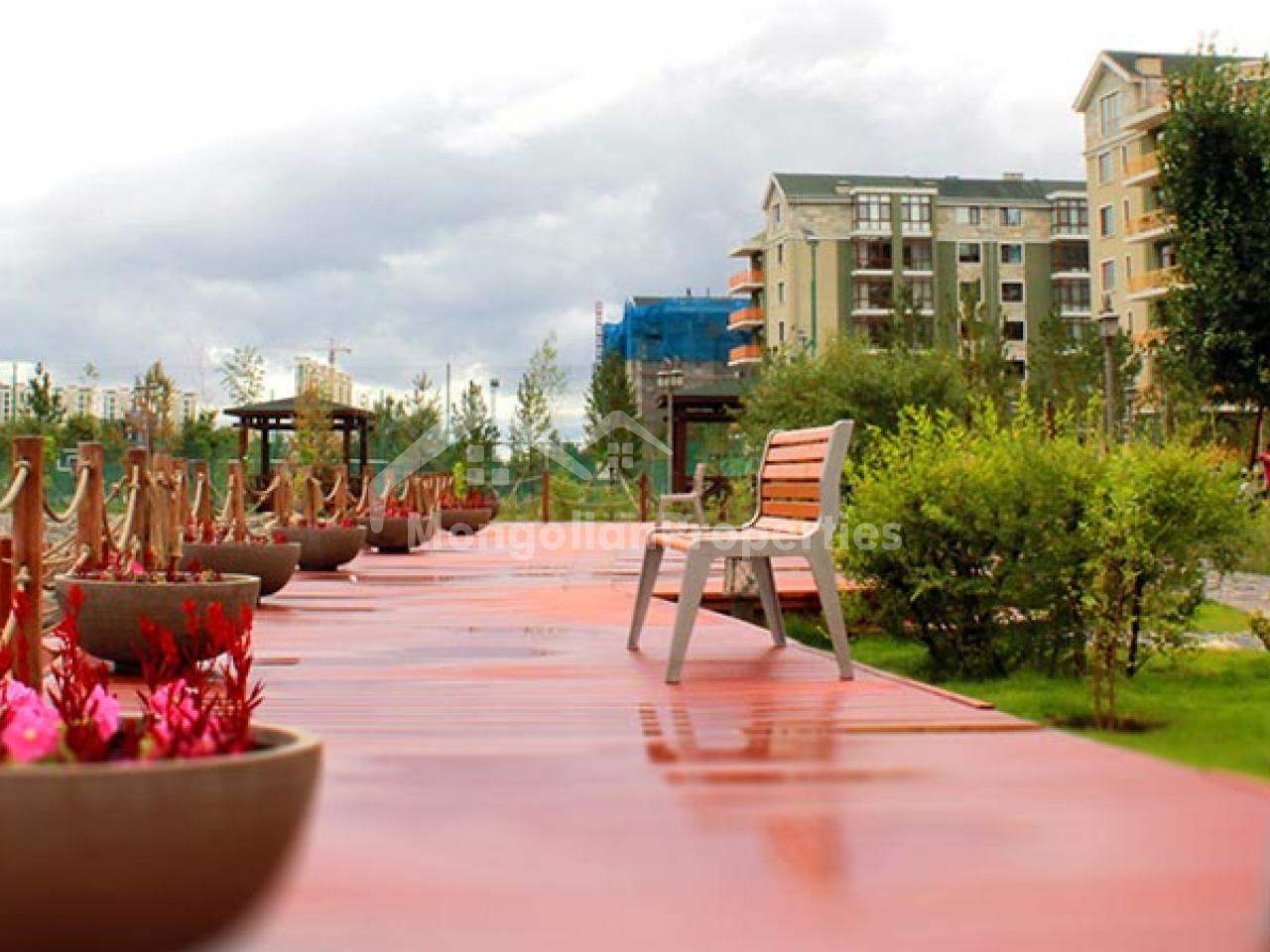 big terrace good view spaciuos 4 bedroom apartment for rent in