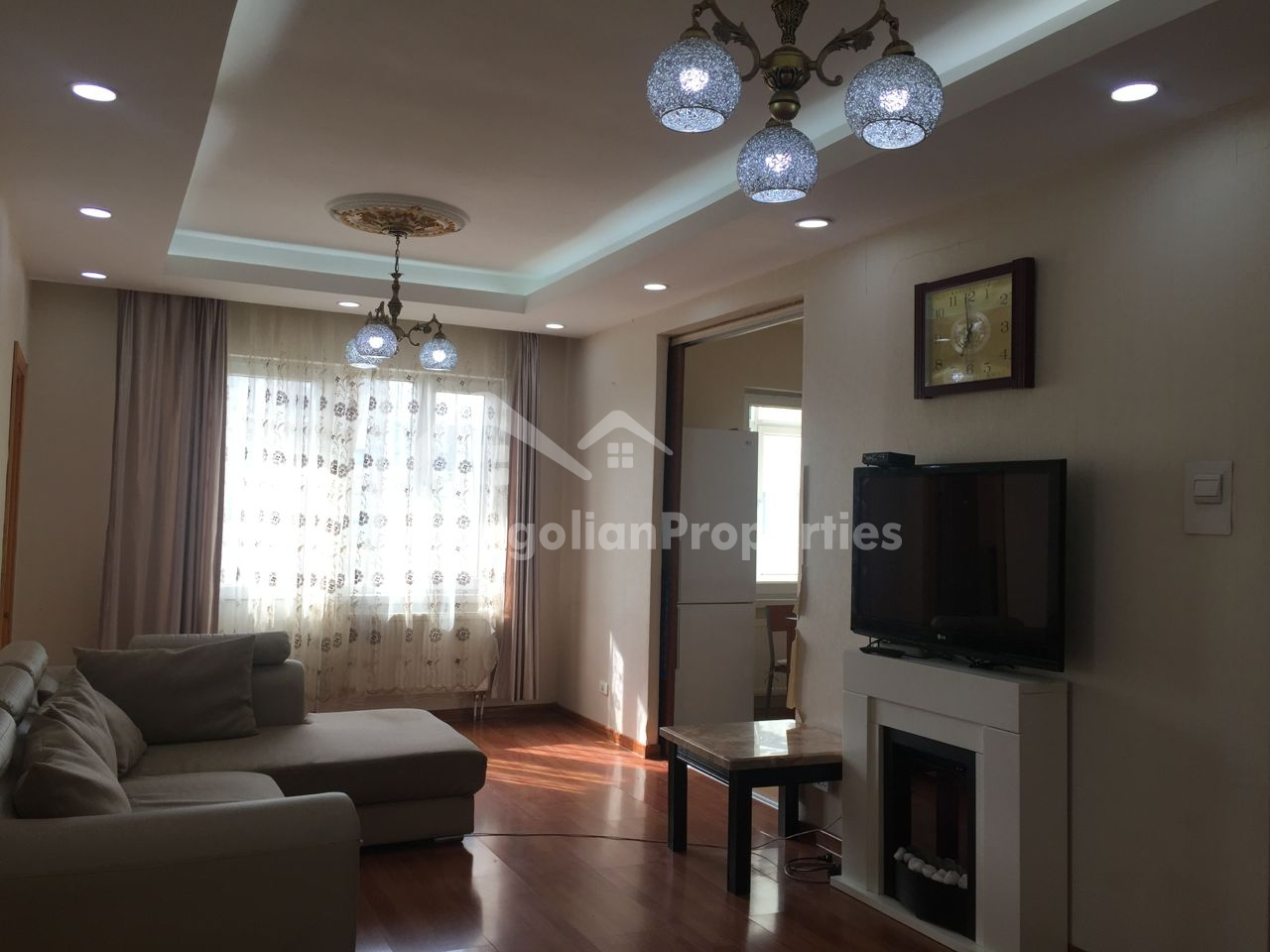 Great View, Cozy 3 bedroom apartment is for rent in Golomt tower