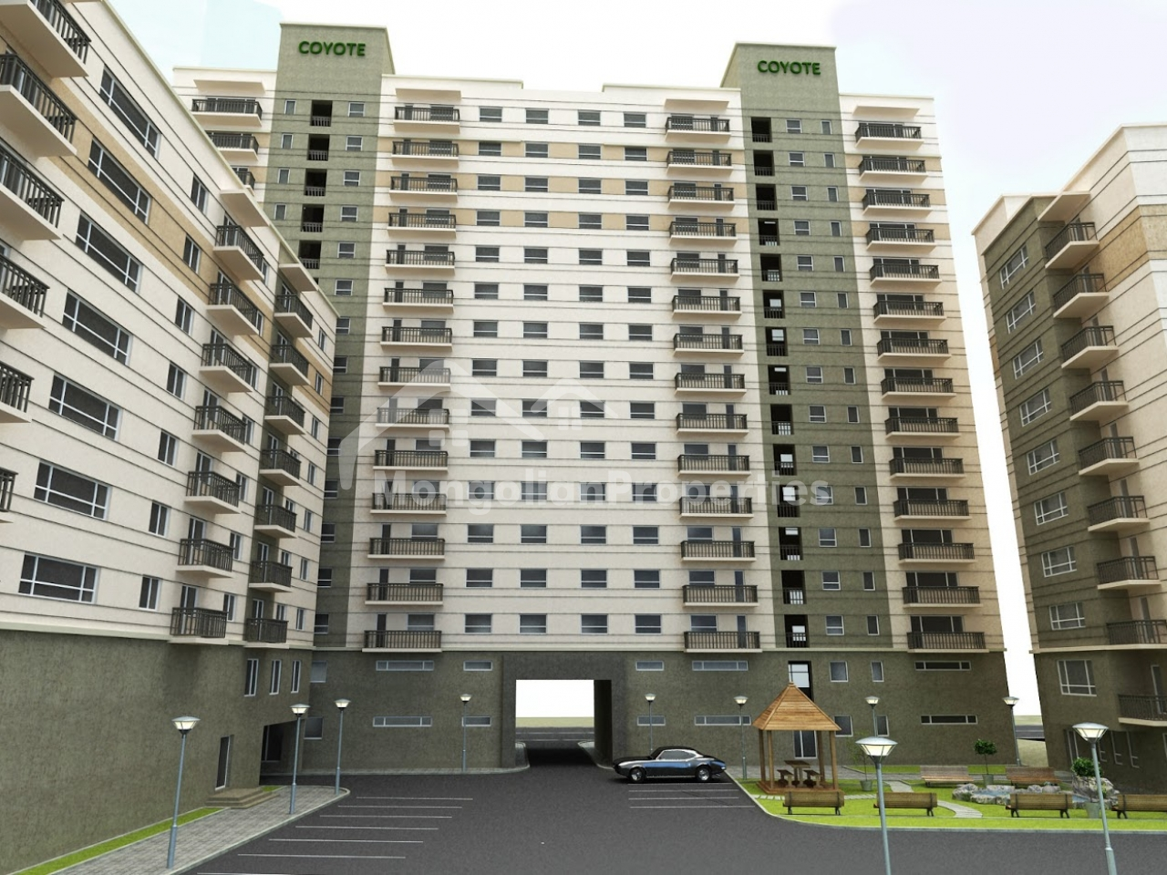 FOR RENT: 2 bedroom apartment at One Residence