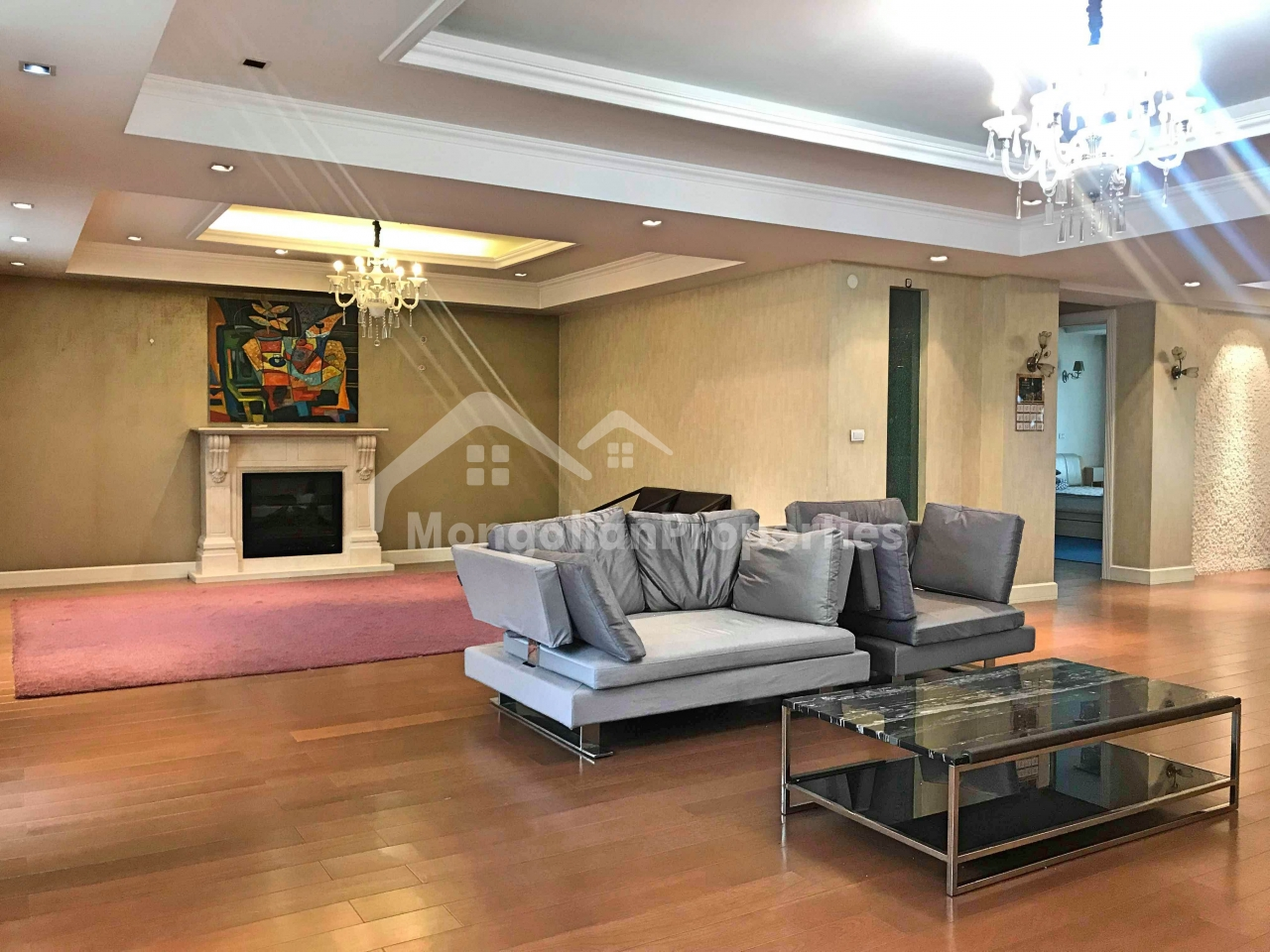 SPACIOUS 6 BDR APARTMENT IS FOR RENT AT THE ZAISAN LUXURY VILLAGE