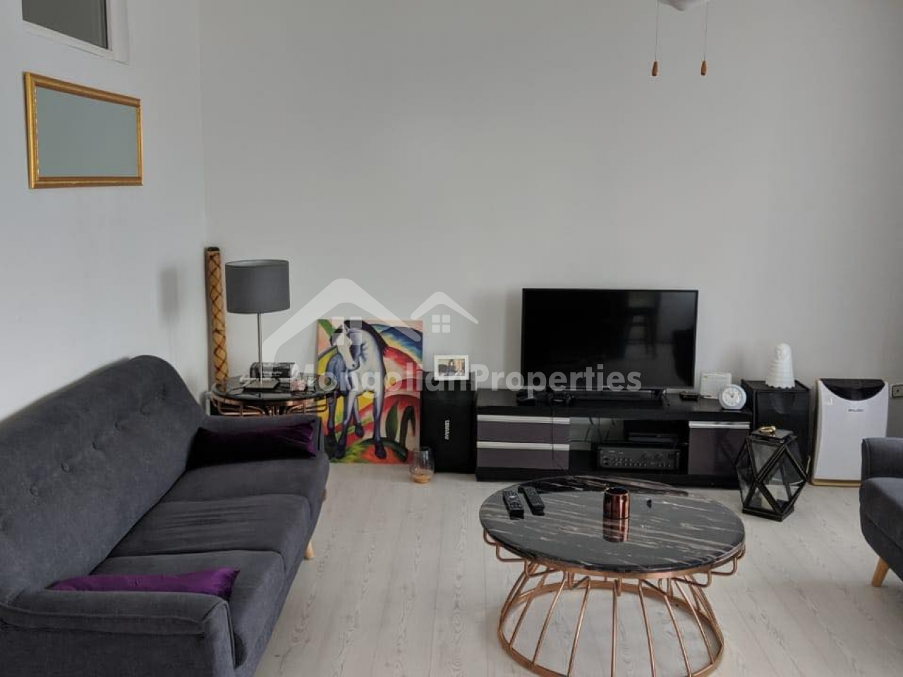 For rent: Cozy 1 bedroom apartment is for rent near Bayangol hotel