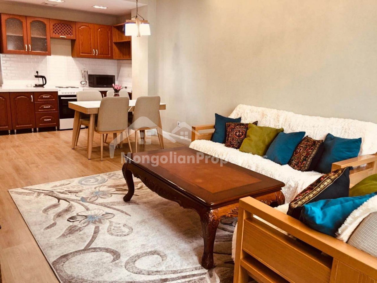 FOR RENT:  2 BEDROOM APARTMENT AT UB CENTRAL RESIDENCE / CIRCUS AREA