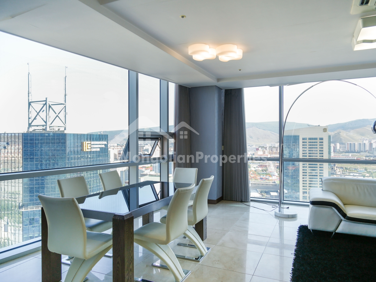 Rent: Luxury 2 bedrooms apartment at Blue Sky Tower | Mongolian ...