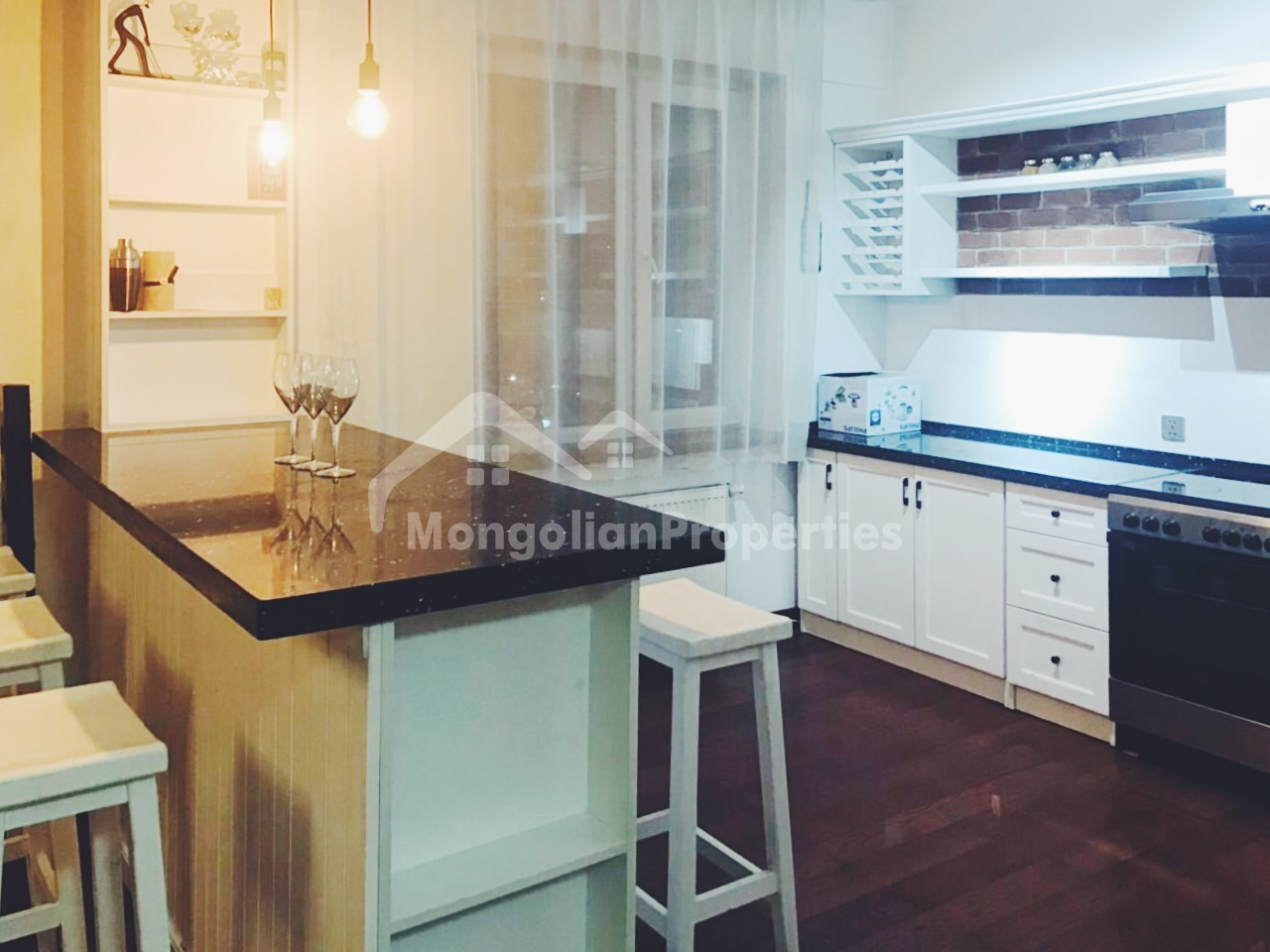 FOR RENT: Beautiful, cozy and fully furnished one bedroom apartment in Embassy Area