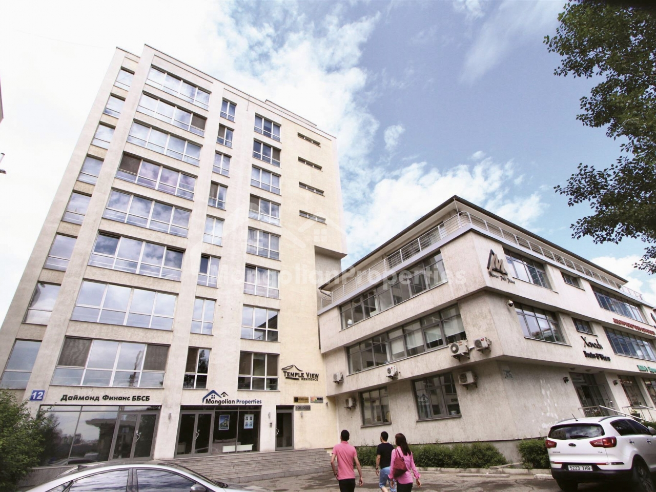 Calm and safety environment! Fully furnished 2 bedroom apartment is for RENT at TEMPLE VIEW RESIDENCE
