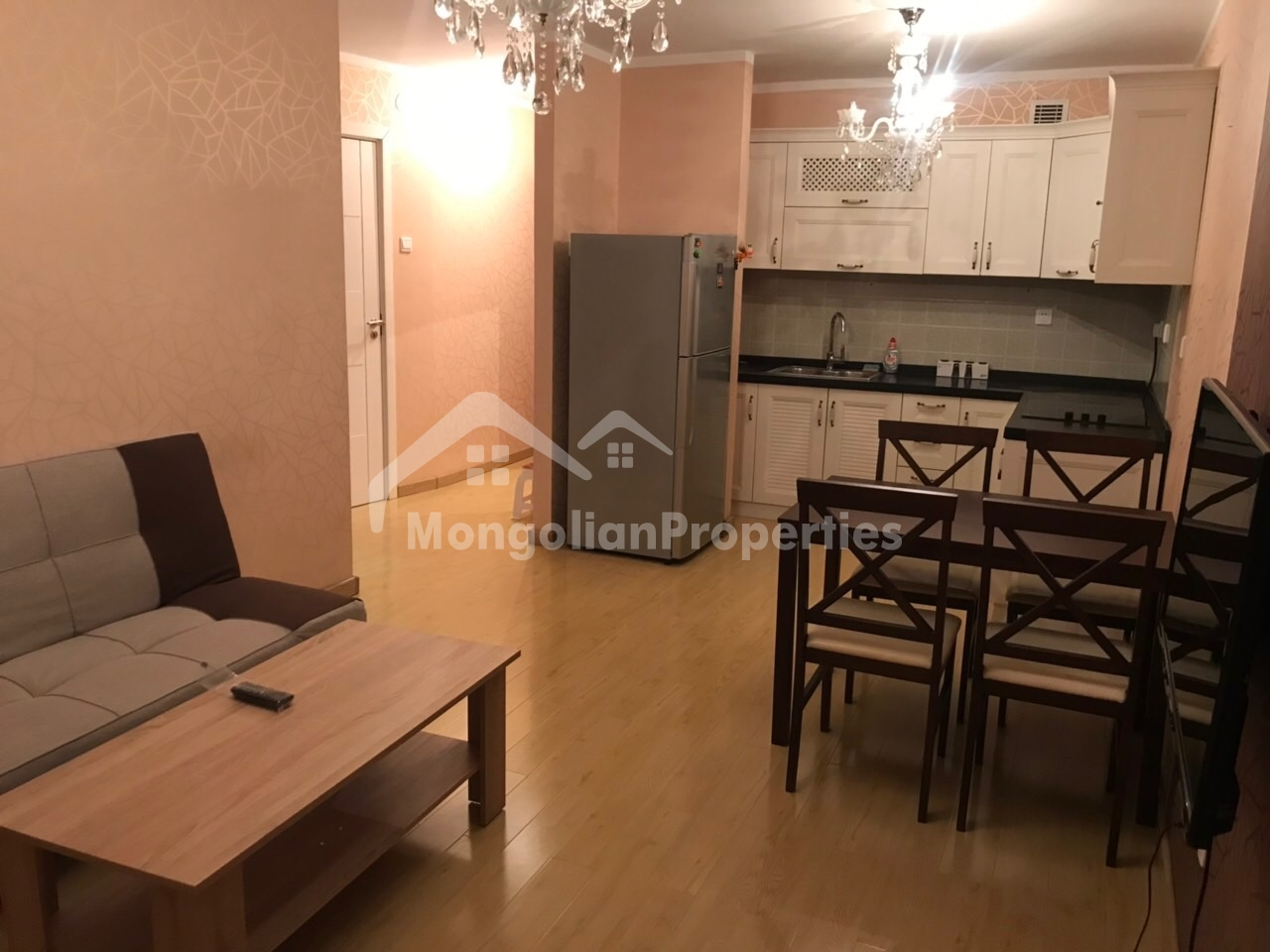 For rent: 1 bedroom apartment right next to Ulaanbaatar mall /UB town