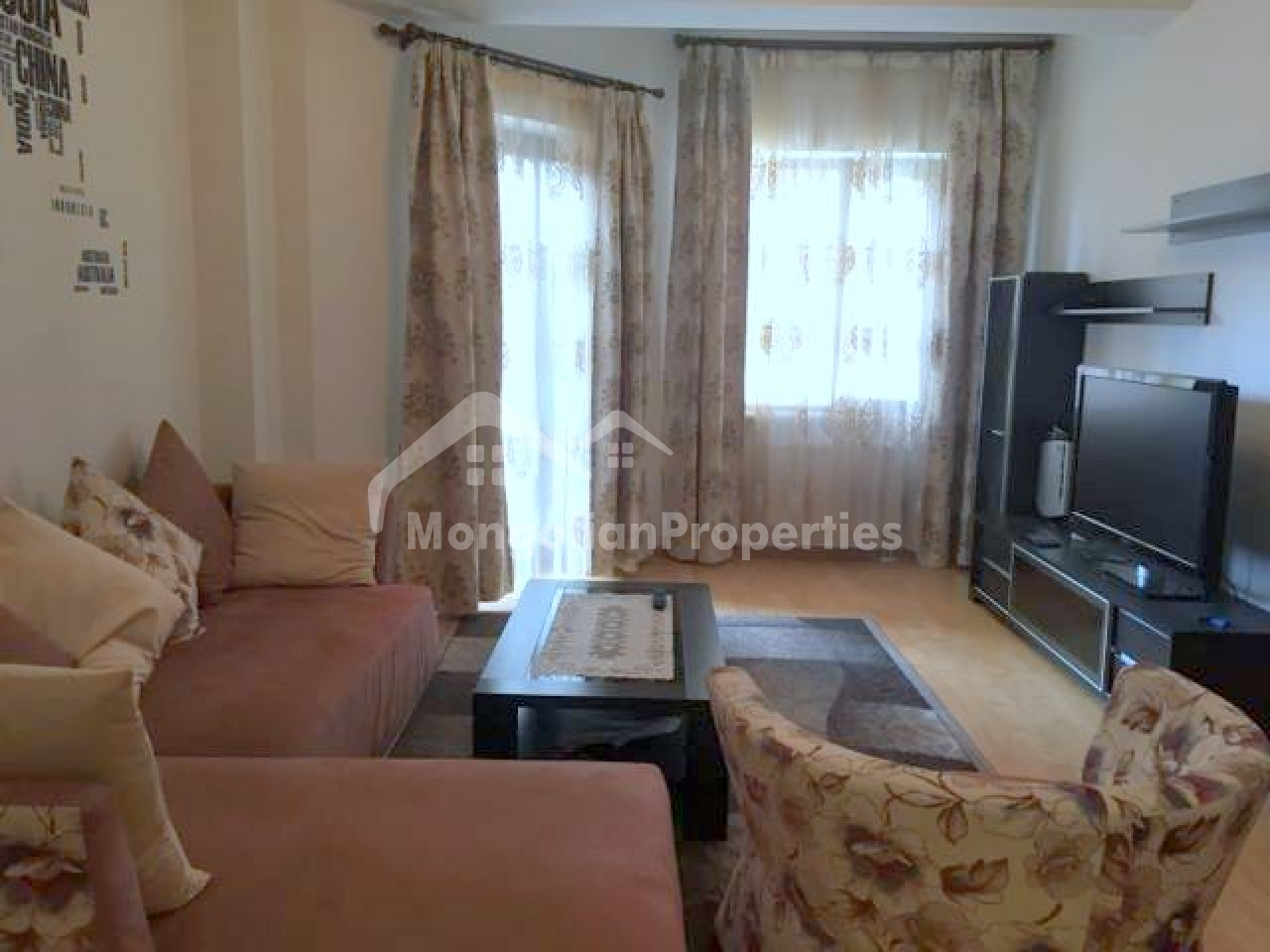 Cozy 1 bedroom apartment is for rent in Regency Residence