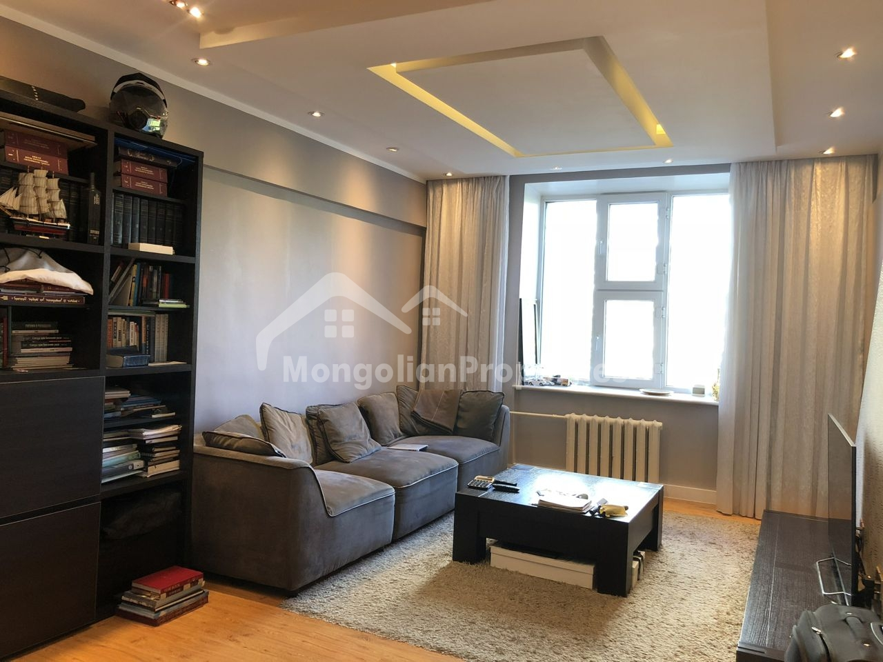 Renovated 1 bedroom apartment is for sale just next to the Russian Embassy