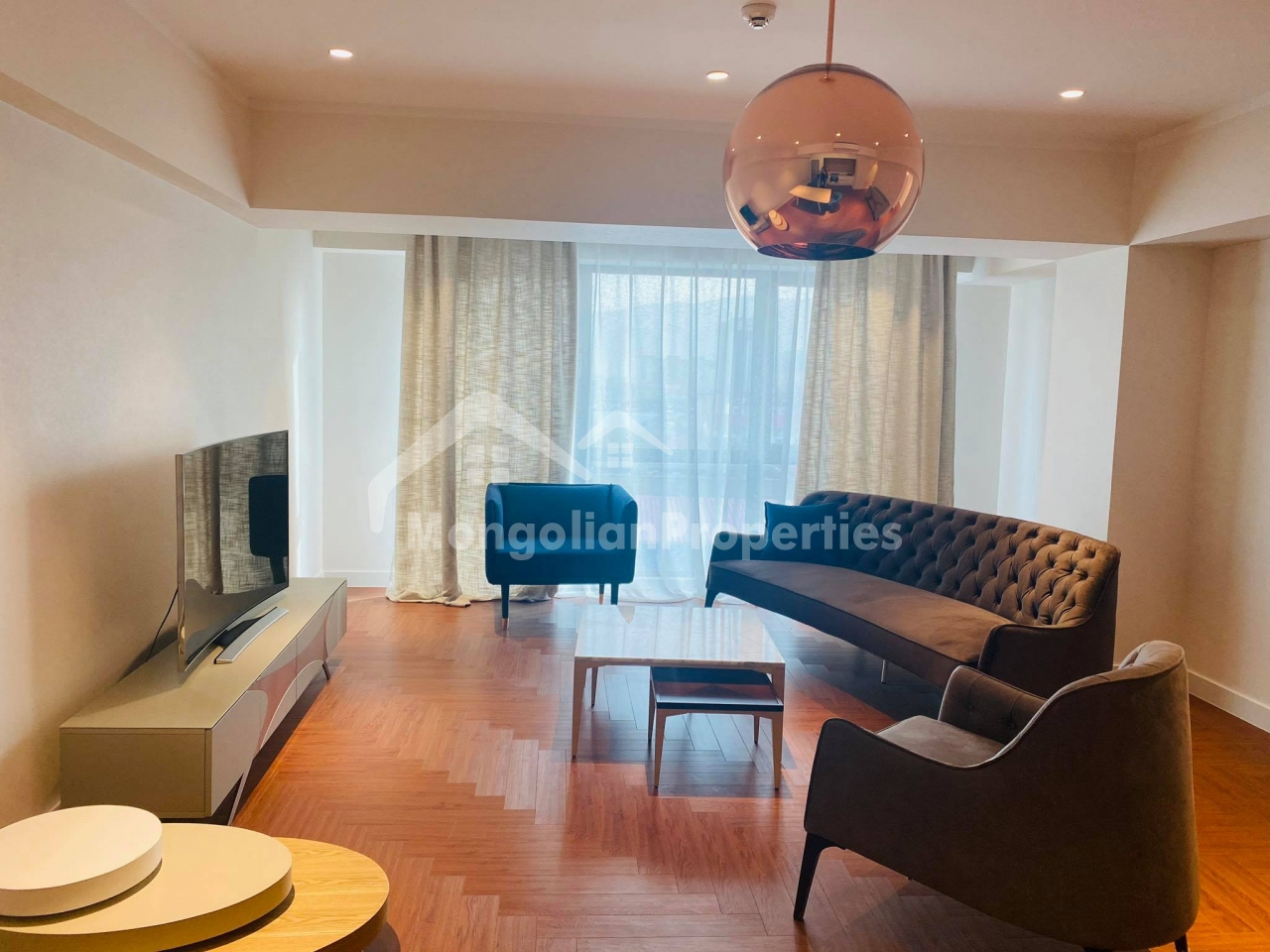 Brand new, Cozy 1 bedroom apartment is for rent at Ambassador tower