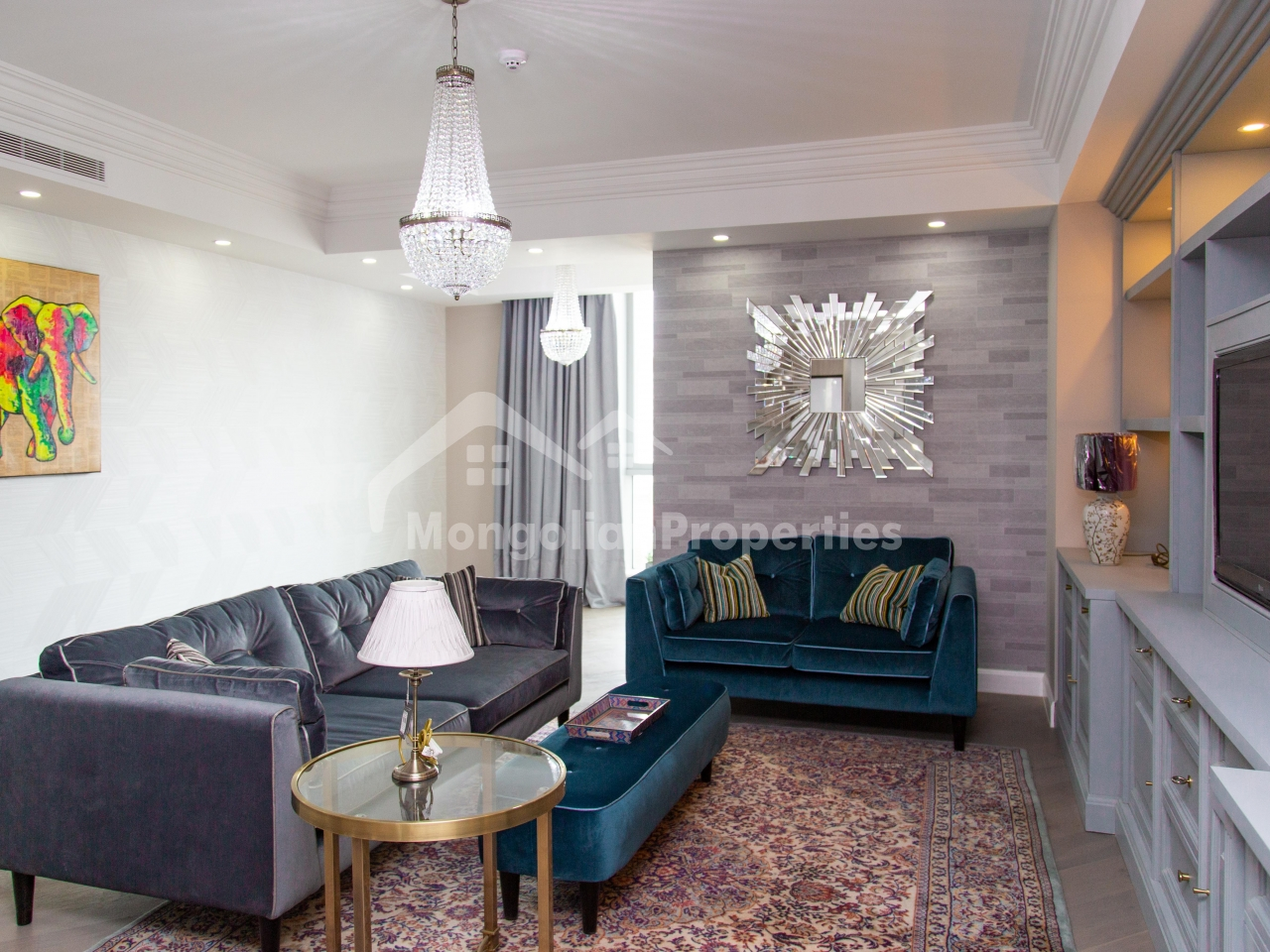 Gorgeous, Brand new 2 bedroom apartment is for rent at the Olympic Residence