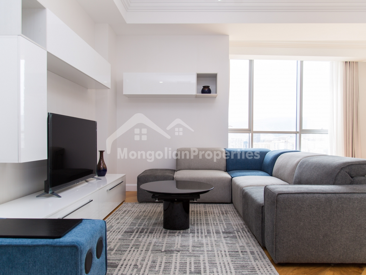 Great View, Brand New 2 bedroom apartment is for rent at the Olympic Residence