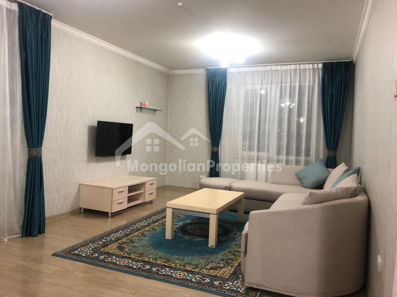 For rent: Comfortable 1 bedroom apartment is for rent at Golomt tower