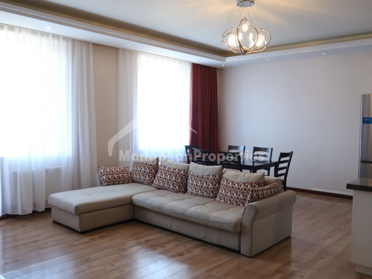 Clean Air! Cozy 3 bedroom apartment is for rent in Gerelt/Light complex.