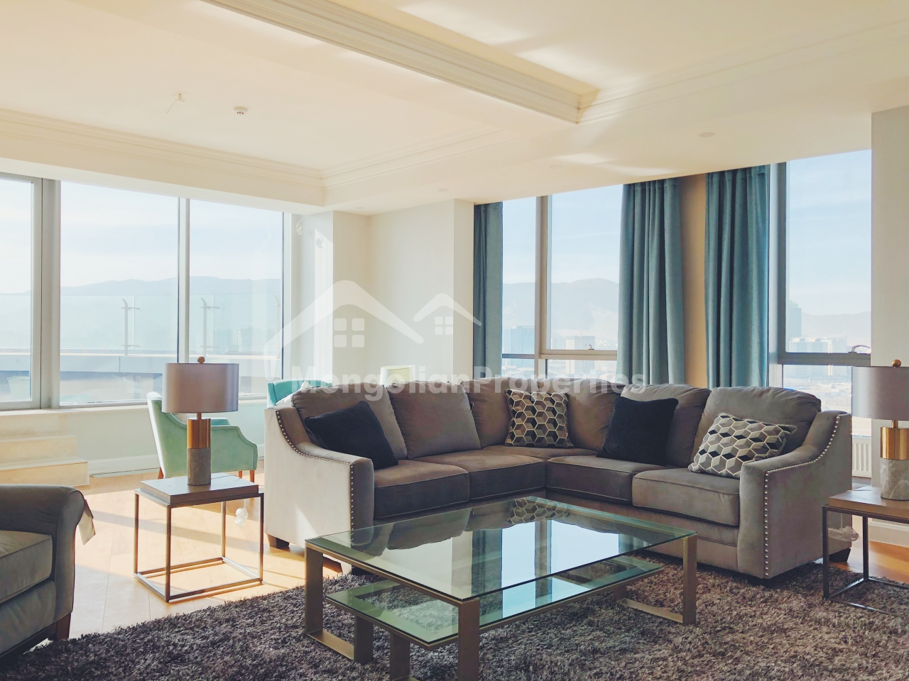 Breathtaking View, Big terrace, Spacious penthouse is for sale at the Olympic Residence