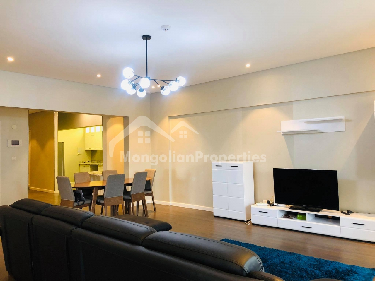 Spacious 3 bedroom apartment is for rent in Romana Residence near Korean Embassy