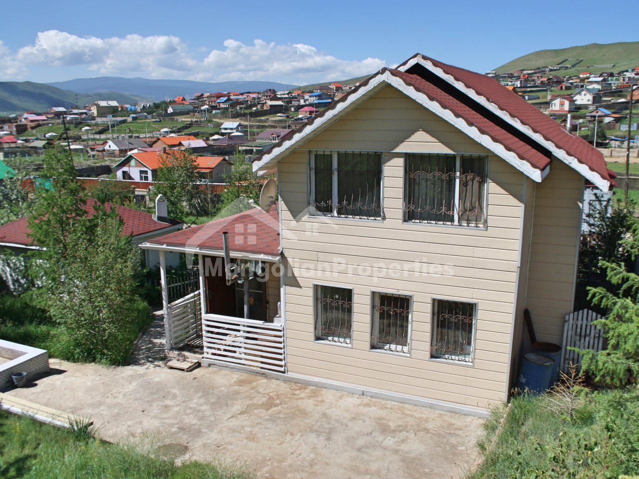 FOR SALE: BEAUTIFUL NATURE, WINTER HOUSE WITH WIDE LAND IN GACHUURT VALLEY/ ГАЧУУРТАД ӨВӨЛ ЗУНЫ 2 ДАВХАР ХАУС ЗАРНА